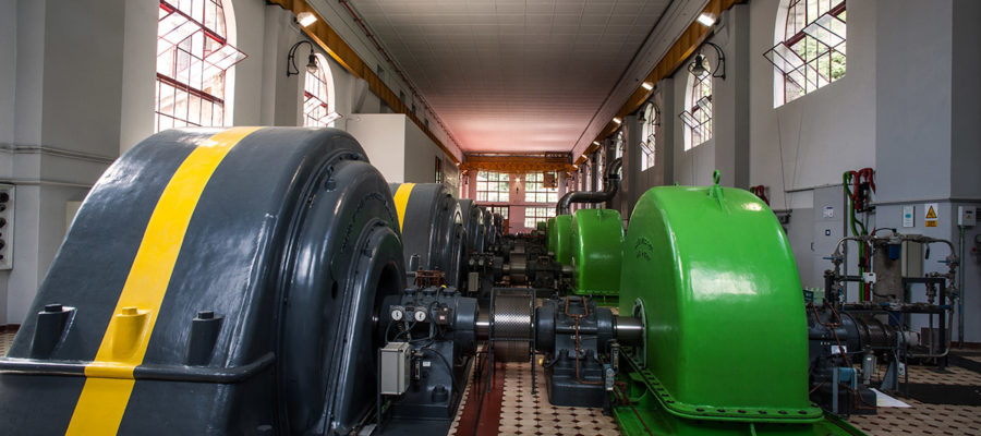 Capdella hydroelectric power station