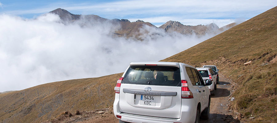 Discover Pallars by 4×4 in 2 days with a guide