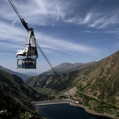 Vall Fosca cable car