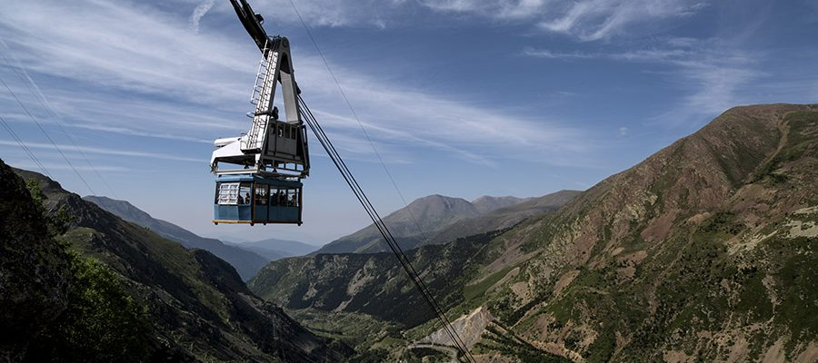 Vall Fosca cable car